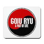 GOJU RYU A Way Of Life Yin Yang Mousepad