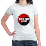 GOJU RYU A Way Of Life Yin Yang Jr. Ringer T-Shirt