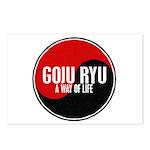 GOJU RYU A Way Of Life Yin Yang Postcards (Package