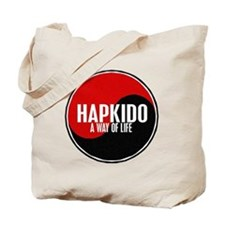 HAPKIDO A Way Of Life Yin Yang Tote Bag