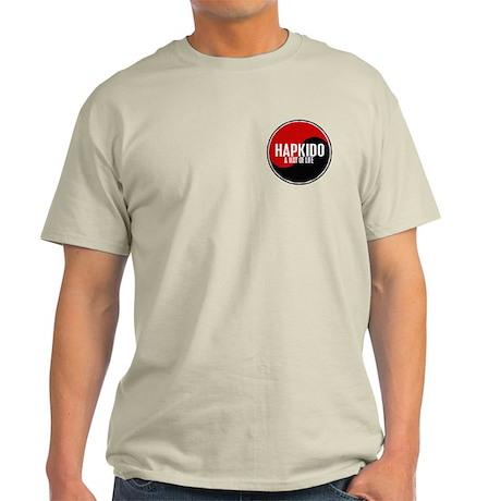 HAPKIDO A Way Of Life Yin Yang Light T-Shirt