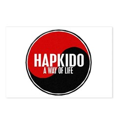 HAPKIDO A Way Of Life Yin Yang Postcards (Package