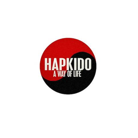 HAPKIDO A Way Of Life Yin Yang Mini Button (100 pa