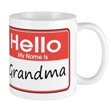Hello, My name is Grandma Mug