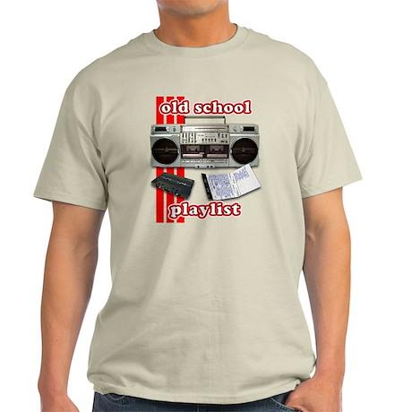 Old School Playlist Light T-Shirt