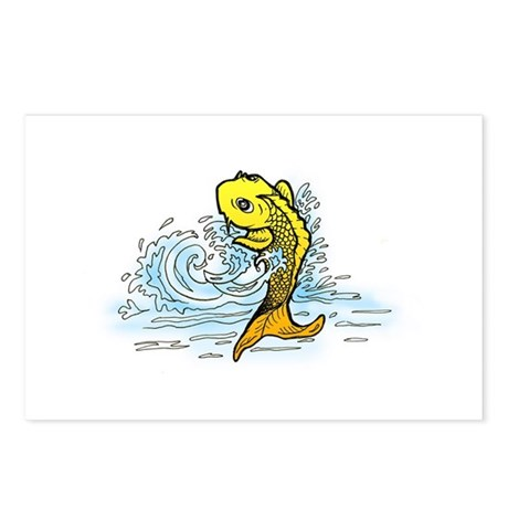 Lucky Koi Postcards (Package of 8)