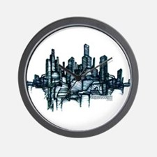 """City Sketch"" Wall Clock"