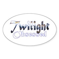 Obsessed by Twilight Books Sticker (10 pk)