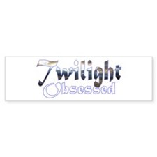 Obsessed by Twilight Books Bumper Bumper Sticker