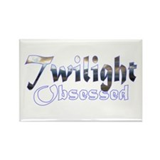 Obsessed by Twilight Rectangle Magnet