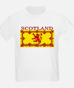 Scotland Scottish Flag Kids T-Shirt