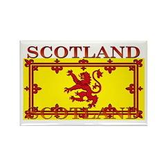 Scotland Scottish Flag Rectangle Magnet (100 pack)