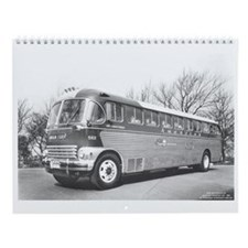 Trolleys Wall Calendar