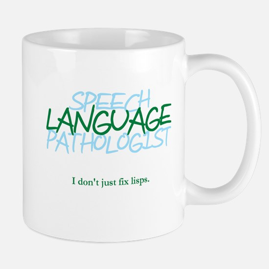 speech LANGUAGE pathologist Mug