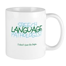 speech LANGUAGE pathologist Mug