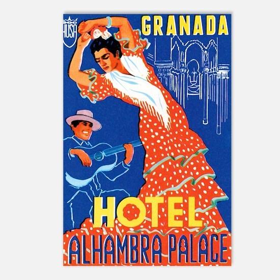 Granada Spain Postcards (Package of 8)