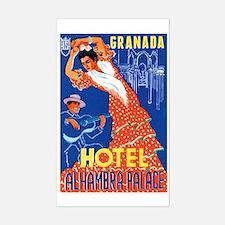 Granada Spain Rectangle Decal