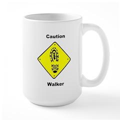 Caution Walker Mug