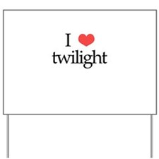 I Heart Twilight Yard Sign