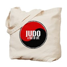 JUDO A Way Of Life Yin Yang Tote Bag