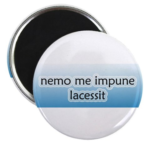 """Nemo Me Impune Lacessit 2.25"""" Magnet (10 pack)"""