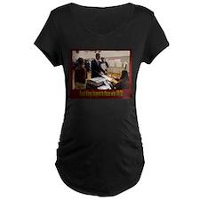 3-voteLG Maternity T-Shirt