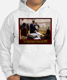 Funny 2008 michelle obama Hoodie