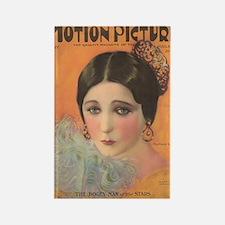Barbara La Marr 1924 Rectangle Magnet