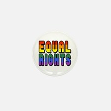 Equal Rights Mini Button (10 pack)