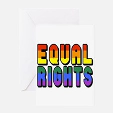 Equal Rights Greeting Card