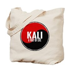 KALI A Way Of Life Yin Yang Tote Bag