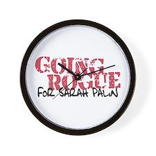 Going Rogue for Sarah Palin Wall Clock