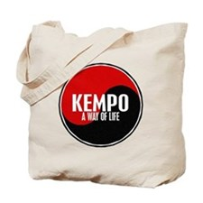 KEMPO A Way Of Life Yin Yang Tote Bag