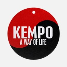 KEMPO A Way Of Life Yin Yang Ornament (Round)