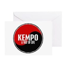 KEMPO A Way Of Life Yin Yang Greeting Card