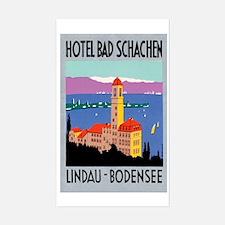 Lindau Germany Rectangle Decal