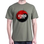 KENDO A Way Of Life Yin Yang Dark T-Shirt