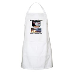 Smoke or Flames...Fries...BBQ Apron
