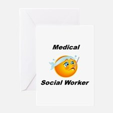 Medical Social Worker Greeting Card