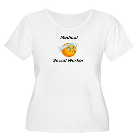 Medical Social Worker Women's Plus Size Scoop Neck
