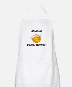 Medical Social Worker BBQ Apron