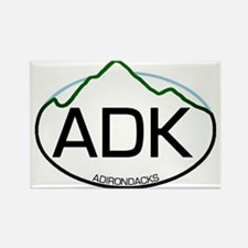 ADK Oval Rectangle Magnet (10 pack)