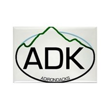 ADK Oval Rectangle Magnet