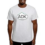 Lake placid Mens Light T-shirts
