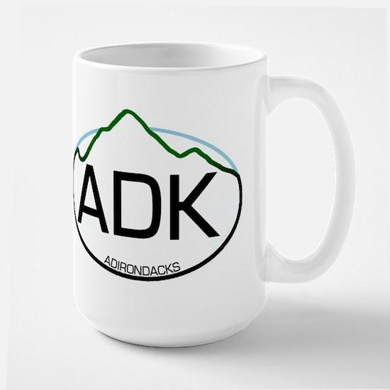 ADK Oval Large Mug
