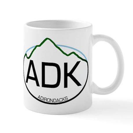 ADK Oval Mug