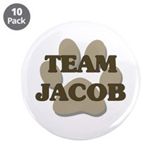 "Twilight - Team Jacob 3.5"" Buttons (10 pack)"