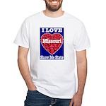 Missouri White T-Shirt