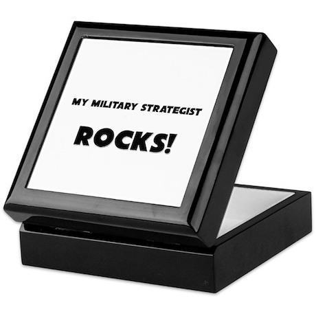 MY Military Strategist ROCKS! Keepsake Box