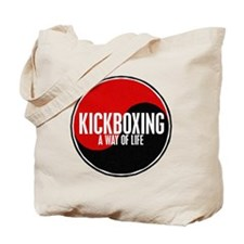 KICKBOXING Way Of Life Yin Yang Tote Bag